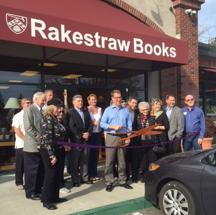 Rakestraw ribbon cutting