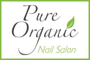 pure organic nail salon danville ca logo